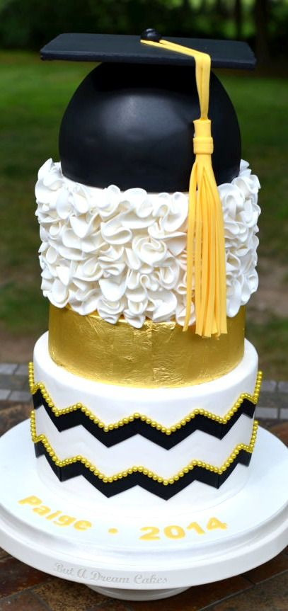 Graduation Cake by But a Dream Custom Cakes