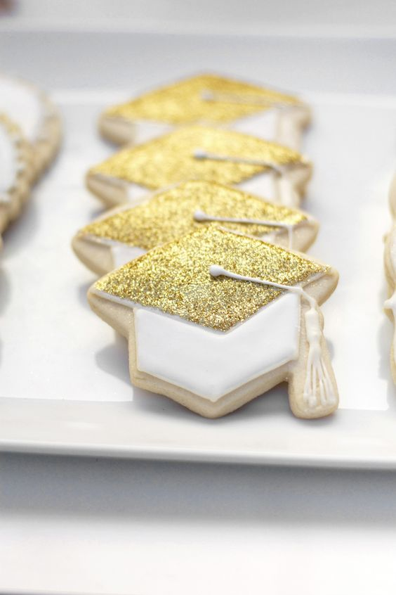 Graduation cookies by Inspired Sugar