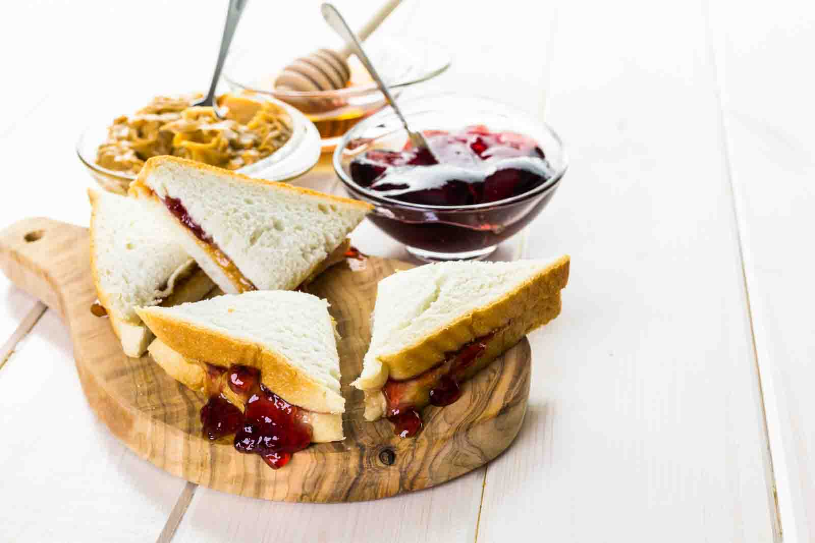 Pbj For Adults Gourmet Peanut Butter And Jelly Sandwich